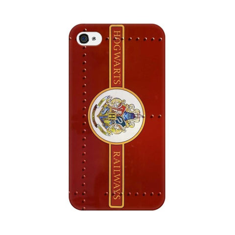 Hogwarts Railways Apple Mobile Cover - Trend Eve