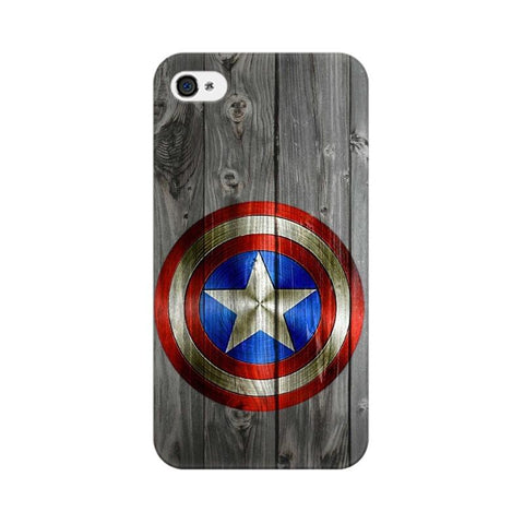 Captain America Apple Mobile Cover - Trend Eve