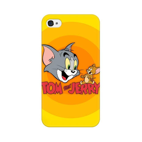 Tom & Jerry Apple Mobile Cover - Trend Eve
