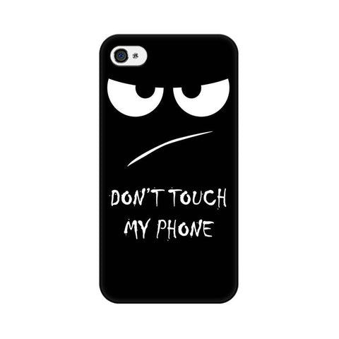 Don't Touch My Phone Apple Mobile Cover - Trend Eve