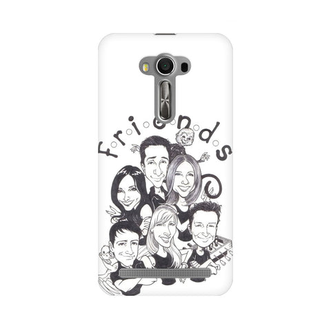 F.R.I.E.N.D.S ASUS Mobile Cover - Trend Eve