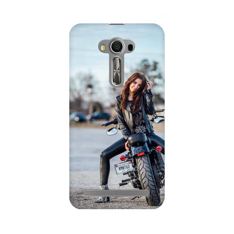 Girl on Bike ASUS Mobile Cover - Trend Eve