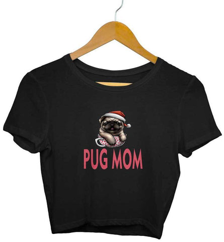 Crop Top for Girls Pug Lover - Trend Eve