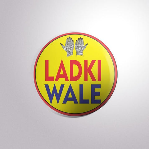 Ladki Wale Button Badges - Trend Eve