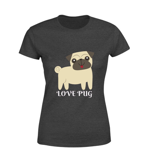 Pug T-Shirt For Girls - Trend Eve