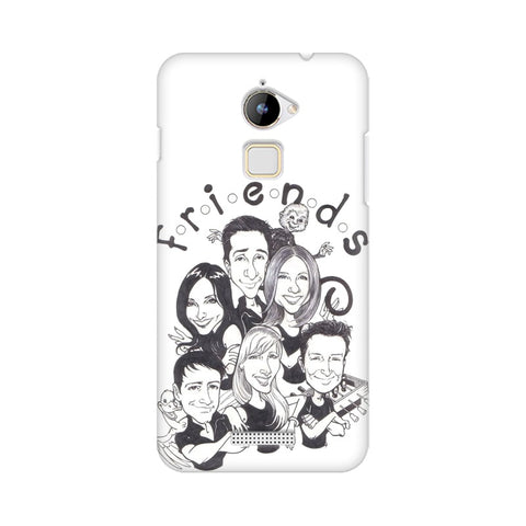 F.R.I.E.N.D.S COOLPAD Mobile Cover - Trend Eve