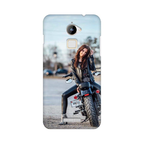 Biker Girl COOLPAD Mobile Cover - Trend Eve