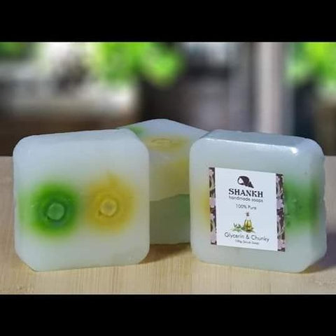 Glycerin & Chunky Soap (Hand Made Soap) - Trend Eve