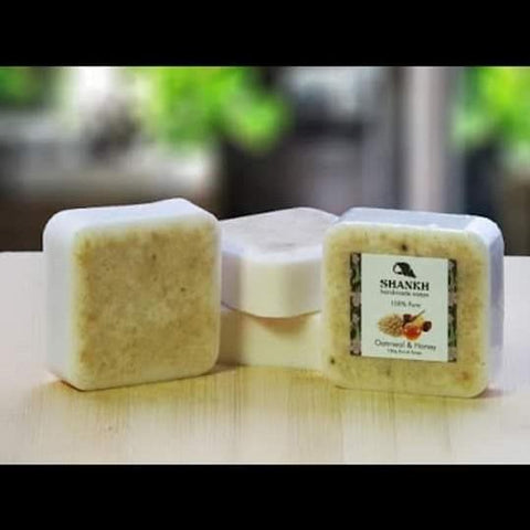 Almond & Saffron Soap (Hand Made Soap) - Trend Eve