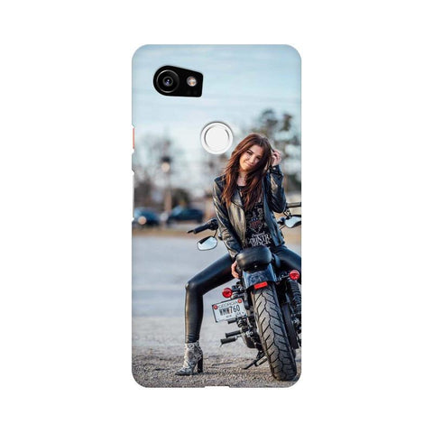 Biker Girl Google Mobile Cover - Trend Eve