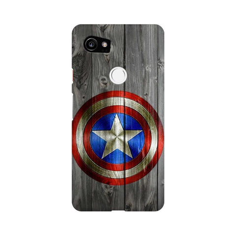 Captain America Google Mobile Cover - Trend Eve