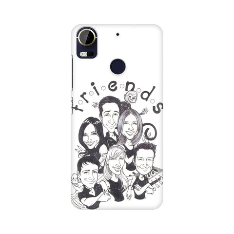 F.R.I.E.N.D.S HTC Mobile Cover - Trend Eve