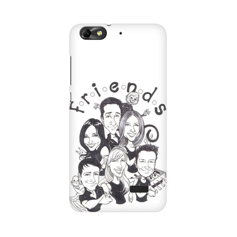 F.R.I.E.N.D.S HUAWEI Mobile Cover - Trend Eve