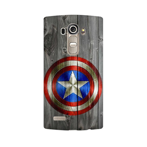 Captain America LG Mobile Cover - Trend Eve