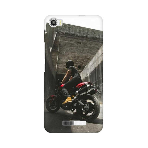 Biker Boy Calling LAVA Mobile Cover - Trend Eve