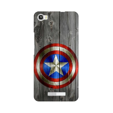 Captain America LAVA Mobile Cover - Trend Eve