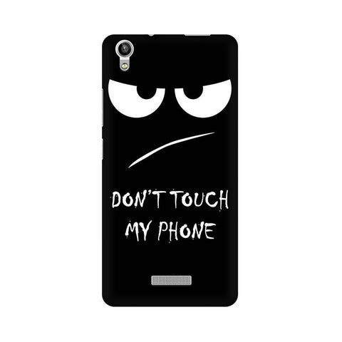 Don't Touch My Phone LAVA Mobile Cover - Trend Eve