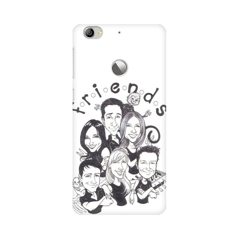 F.R.I.E.N.D.S LeEco Mobile Cover - Trend Eve