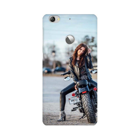 Biker Girl LeEco Mobile Cover - Trend Eve