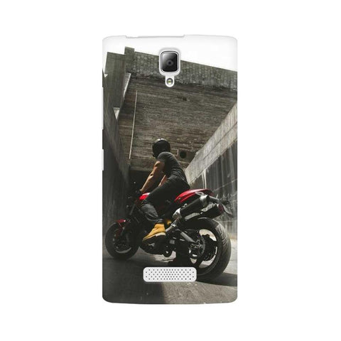 Biker Boy Lenovo Mobile Cover - Trend Eve