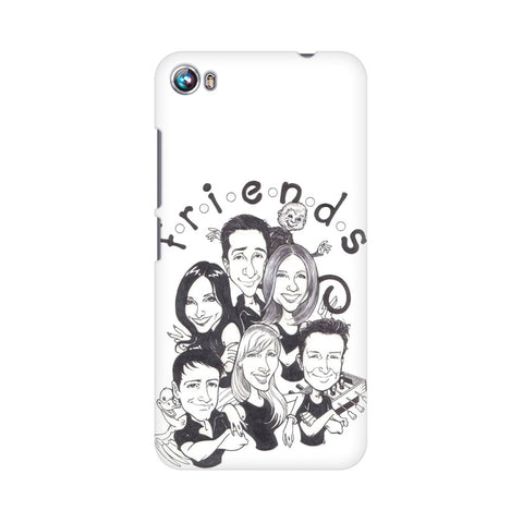 F.R.I.E.N.D.S Micromax Mobile Cover - Trend Eve