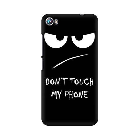 Don't Touch My Phone Micromax Mobile Cover - Trend Eve