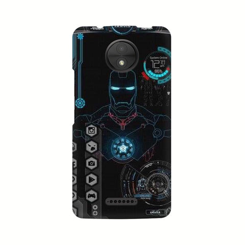Jarvis Motorola Mobile Cover - Trend Eve
