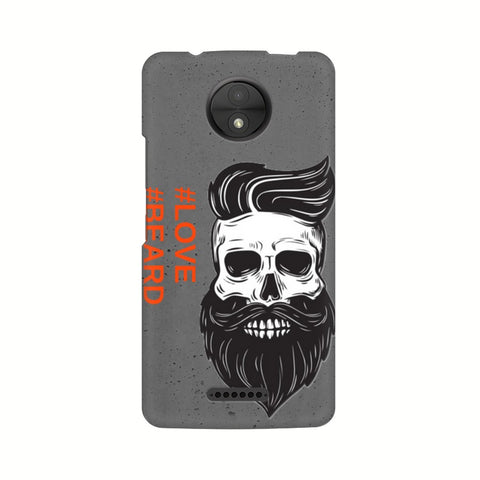 Love Beard Motorola Mobile Cover - Trend Eve