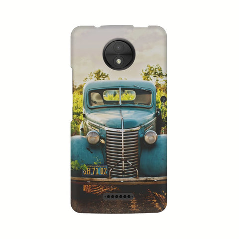 Old Truck Motorola Mobile Cover - Trend Eve