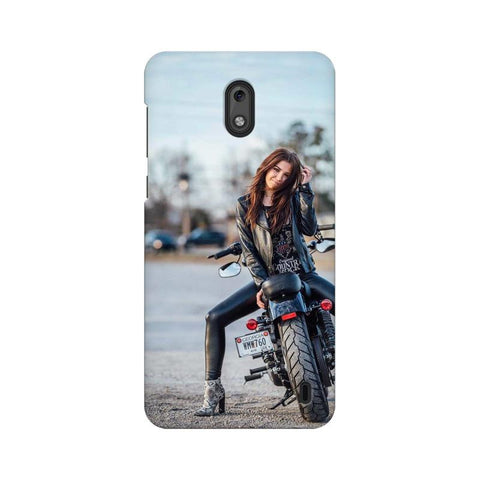Biker Girl Nokia Mobile Cover - Trend Eve