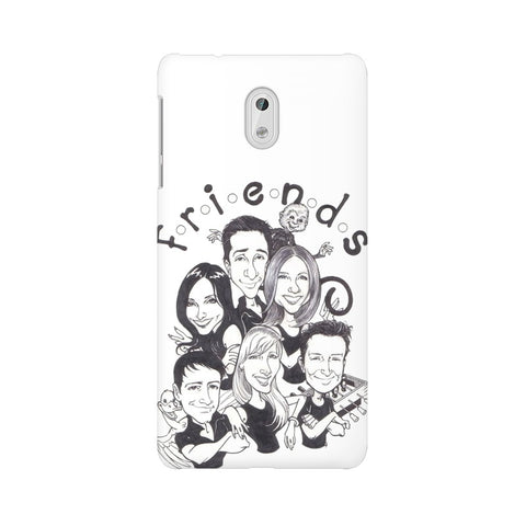 F.R.I.E.N.D.S Nokia Mobile Cover - Trend Eve