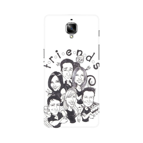F.R.I.E.N.D.S OnePlus Mobile Cover - Trend Eve