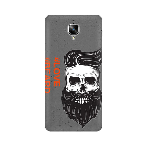 Love Beard OnePlus Mobile Cover - Trend Eve