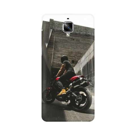 Biker Boy OnePlus Mobile Cover - Trend Eve
