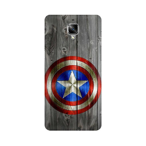 Captain America OnePlus Mobile Cover - Trend Eve