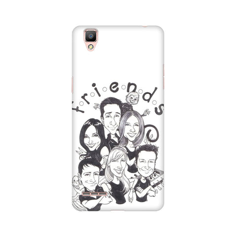 F.R.I.E.N.D.S Oppo Mobile Cover - Trend Eve
