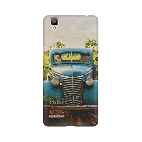 Old Truck Oppo Mobile Cover - Trend Eve