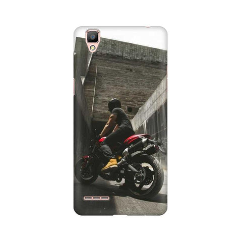 Biker Boy Oppo Mobile Cover - Trend Eve