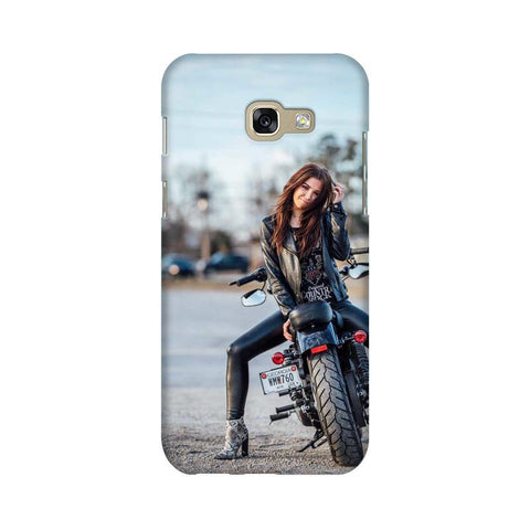 Biker Girl SAMSUNG Mobile Cover - Trend Eve