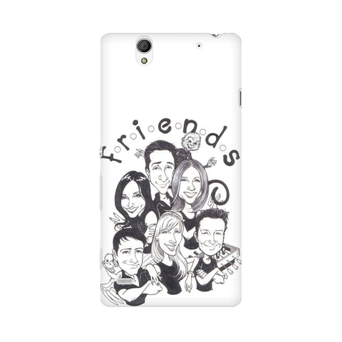 F.R.I.E.N.D.S Sony Mobile Cover - Trend Eve