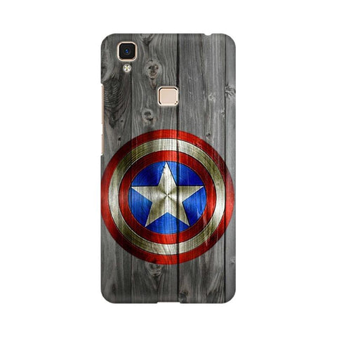 Captain America Vivo Mobile Cover - Trend Eve