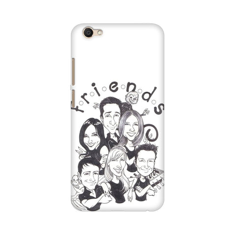 F.R.I.E.N.D.S Vivo Mobile Cover - Trend Eve