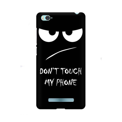 Don't Touch My Phone Xiaomi Redmi Mobile Cover - Trend Eve