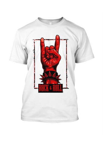 Rock & Roll T-Shirt for Men - Trend Eve