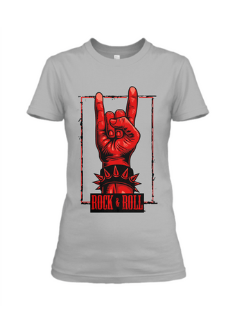 Rock & Roll T-Shirt for Women - Trend Eve