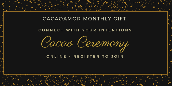 CacaoAmor Online Ceremony *FREE* a gift from us to you