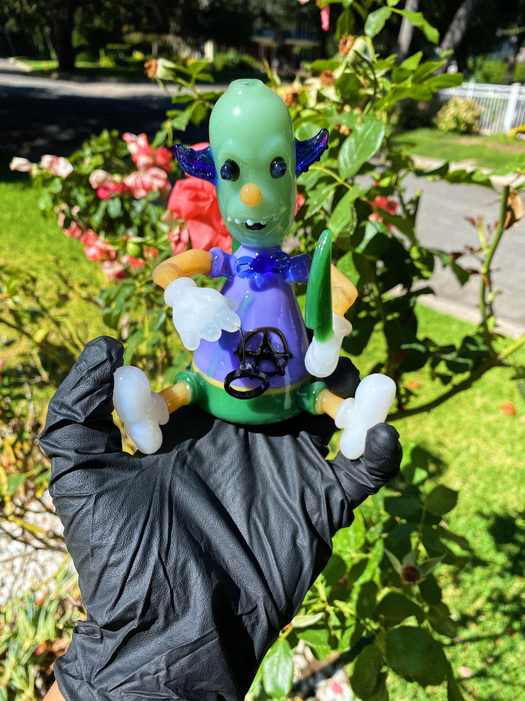 6inch Anarchy Clown Rig Set Bubblers Owl Pack