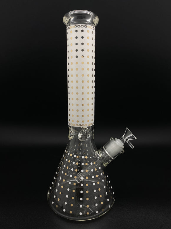 14inch Dotted Bong Bongs Owl Pack