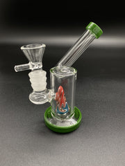 5inch Mini Cone Bong Bongs Space Smoke Shop Green