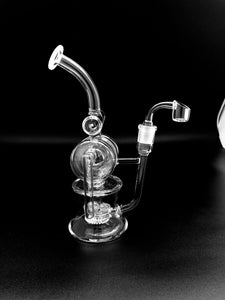 10inch Circular Chamber Rig Rigs Space Smoke Shop
